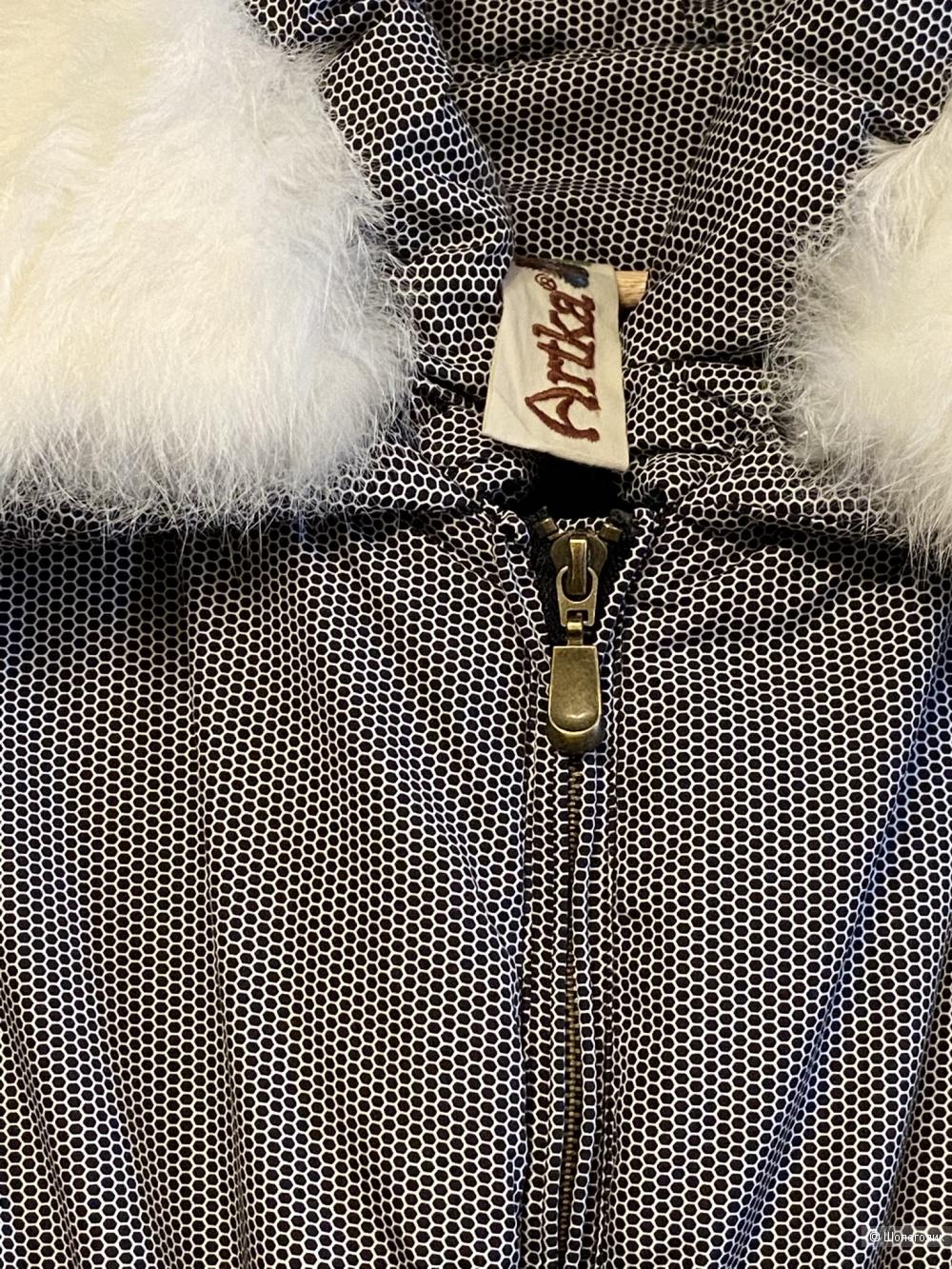 Пальто пуховик Artka, размер 46.