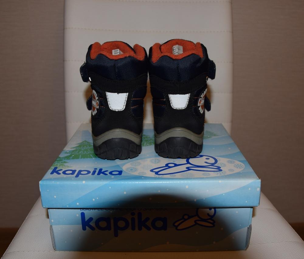 Ботинки зимние Kapika р.23 по стельке 15см