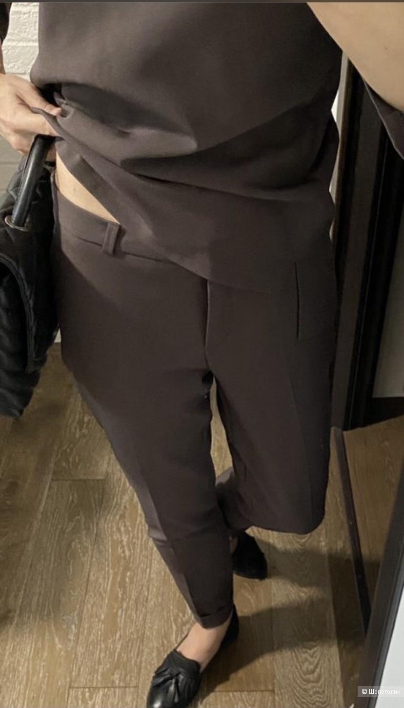 Костюм брюки и блуза бренда Черешня Uniquefabric 42 размер новое
