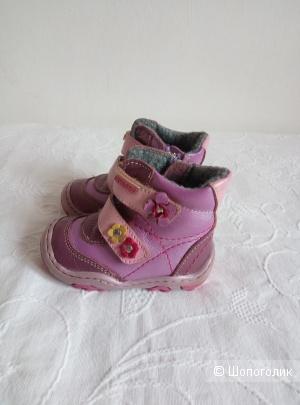 Ботинки демисезонные Котофей,на девочку, 19 размер