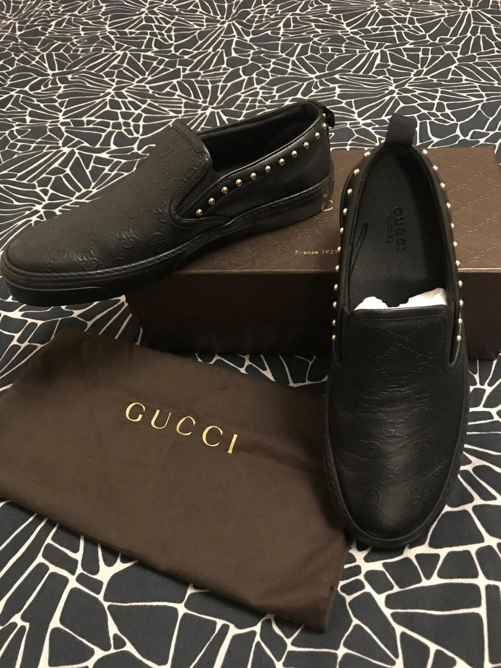 Слипоны Gucci, 39 (37/38)