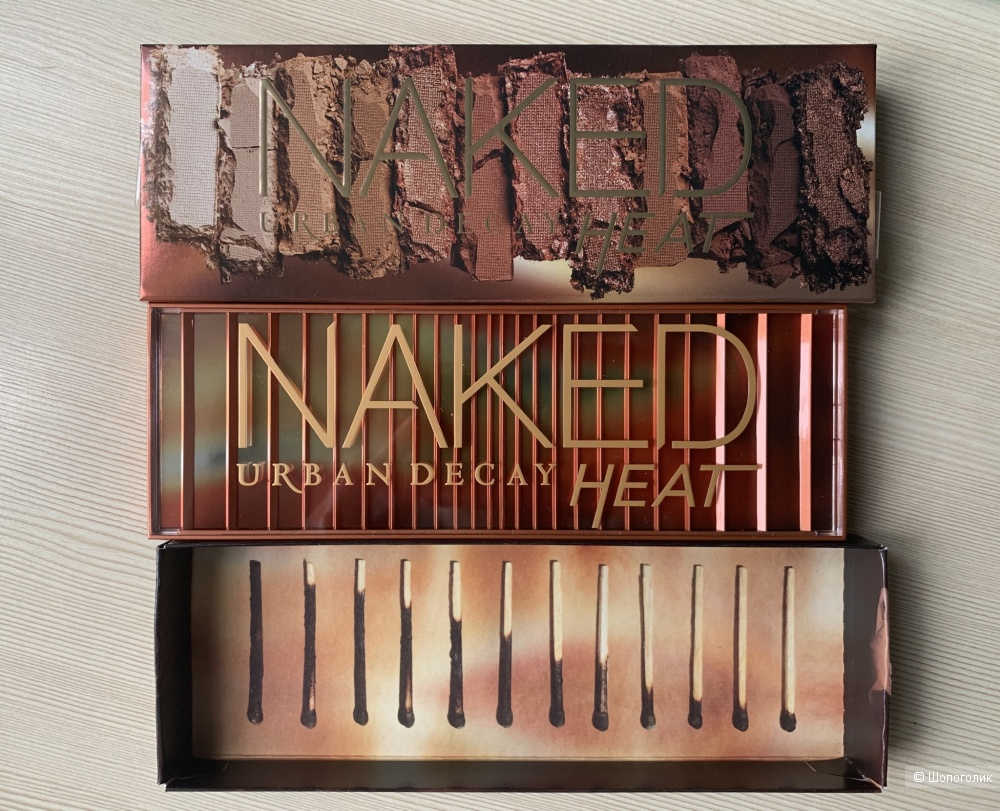 Палетка теней для век Urban Decay Naked Heat