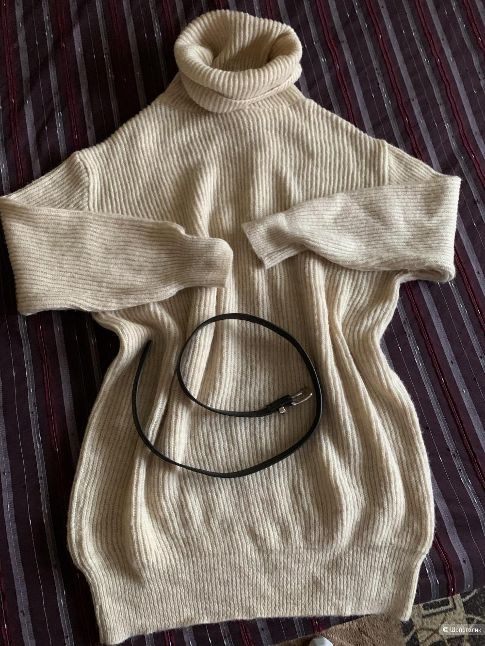 Платье свитер . Размер oversized