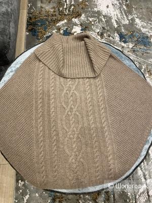 Кашемировое пончо на 42-44-46
