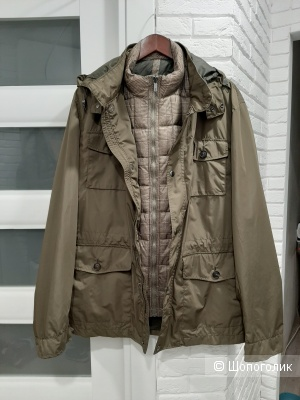 Мужская куртка 3 в 1 Massimo Dutti, размер XXL