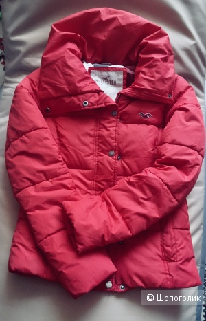 Куртка пуховик Hollister размер S 42