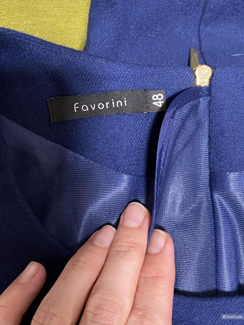 Жакет юбка костюм Фаворини favorini 48
