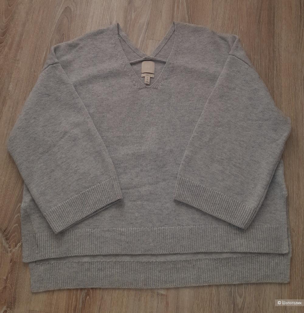 Шерстяной свитер h&m, размер s/m/l