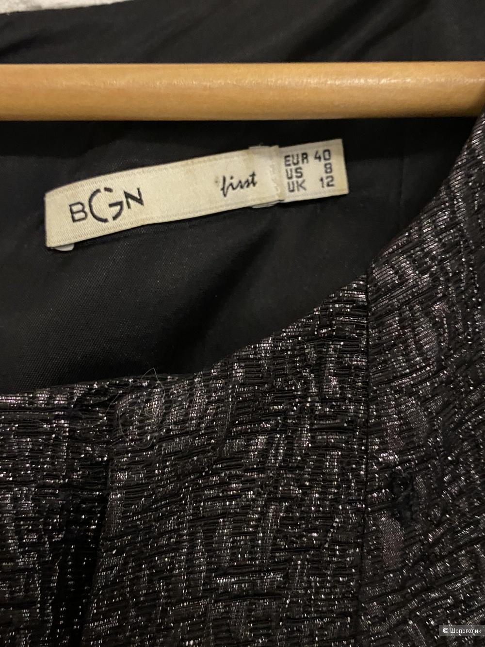 Платье чёрное BGN 48 размер