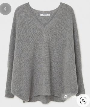 Кашемировый свитер mango, размер m/l