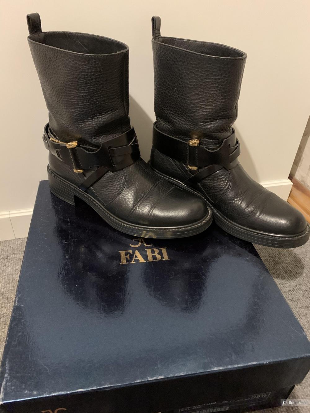 Чёрные ботинки FABI