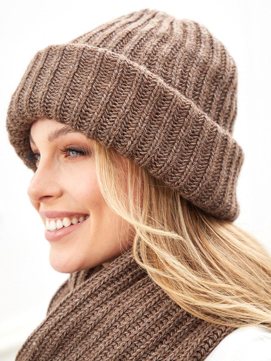 Комплект шапка и снуд Siberica, one size