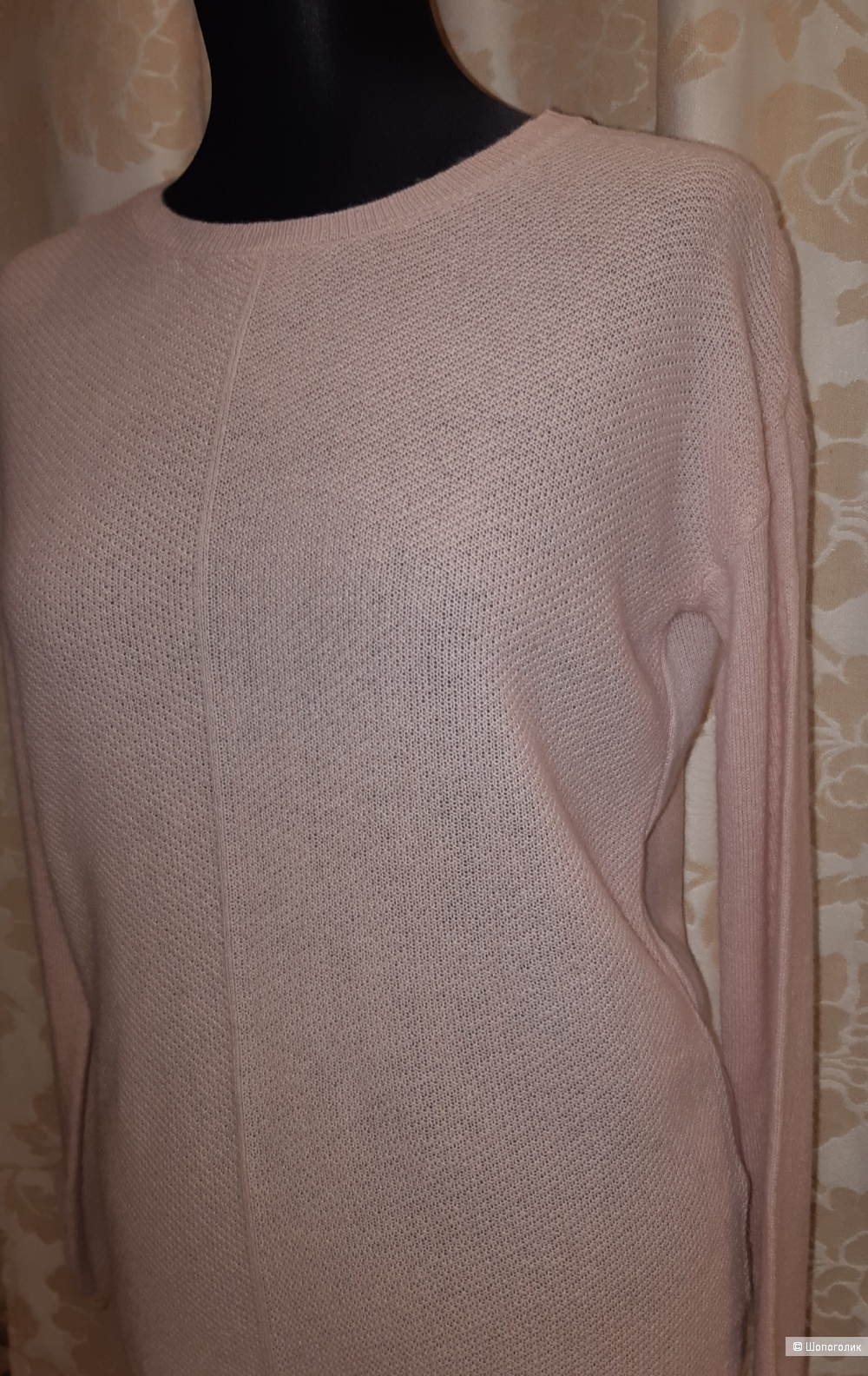 Кашемировый пуловер blue motion, размер m