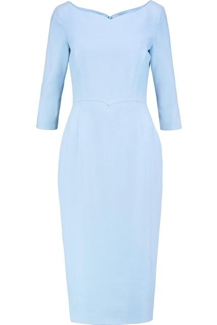 Платье из шерстяного крепа goat 12uk/46-48
