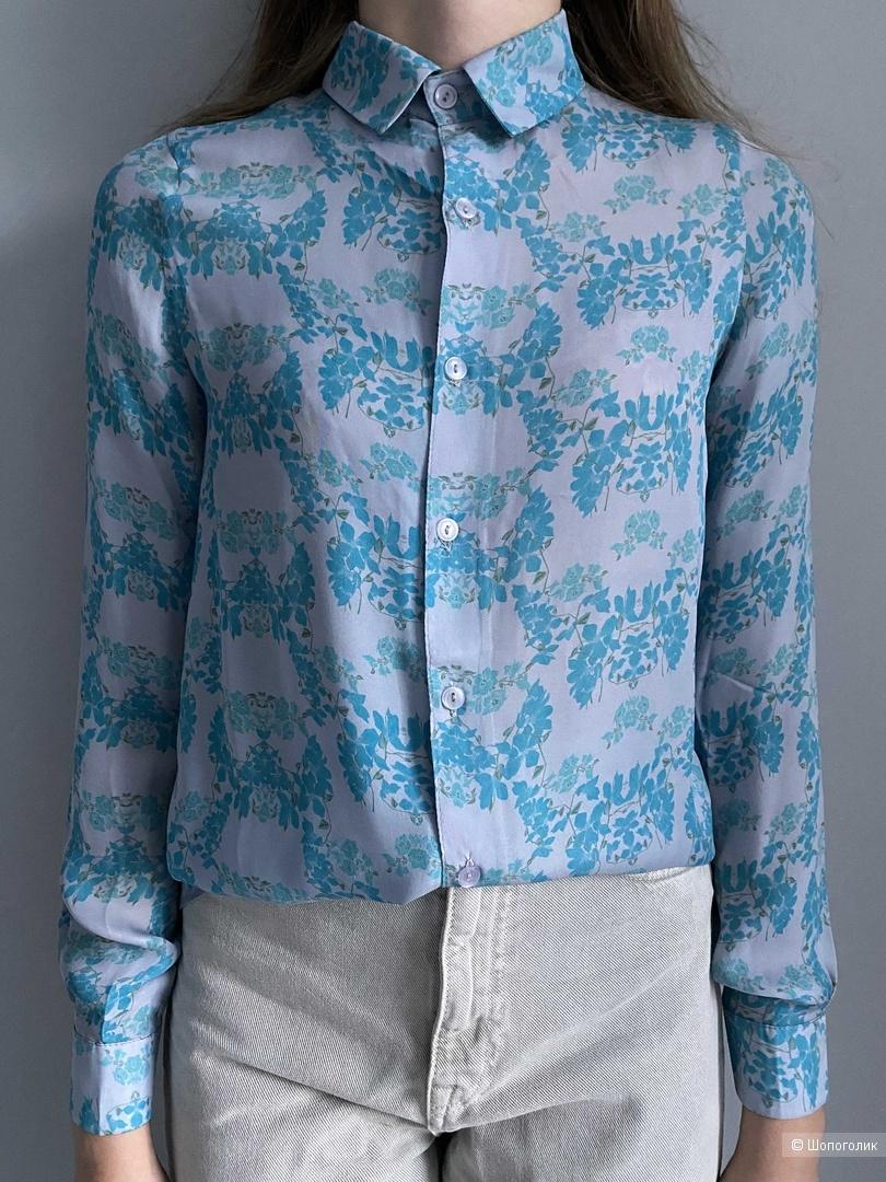 Шелковая рубашка BETA Xs