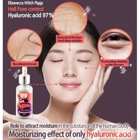 Гиалуроновая сыворотка Elizavecca Hell-Pore Control Hyaluronic Acid 97%
