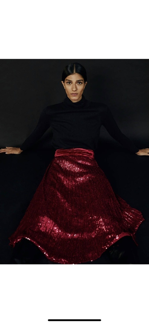 Плиссированная юбка Uterque S