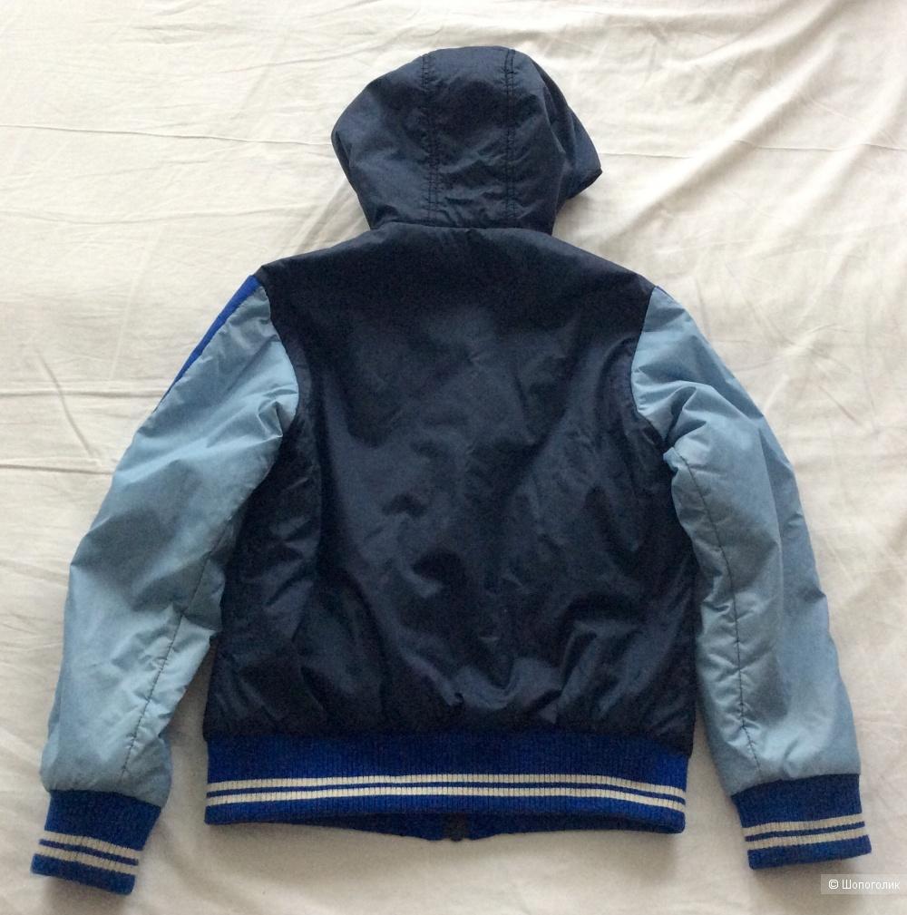 Двусторонняя куртка Benetton р.130-135