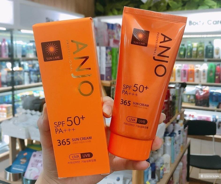 Солнцезащитный крем ANJO 365 SUN CREAM SPF 50+ PA+++ с высокой степенью защиты
