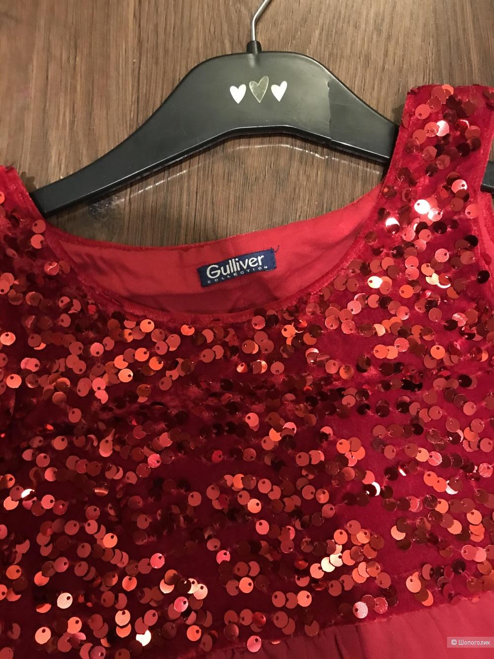 Платье для девочки Gulliver 146 размер