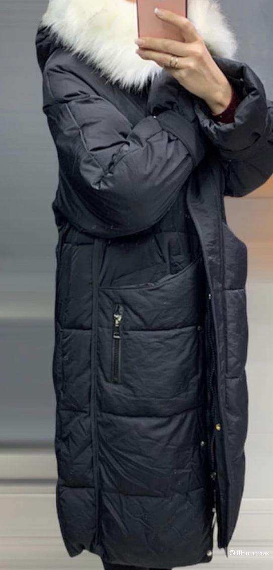Пуховик пальто FUR COAT, 42-48
