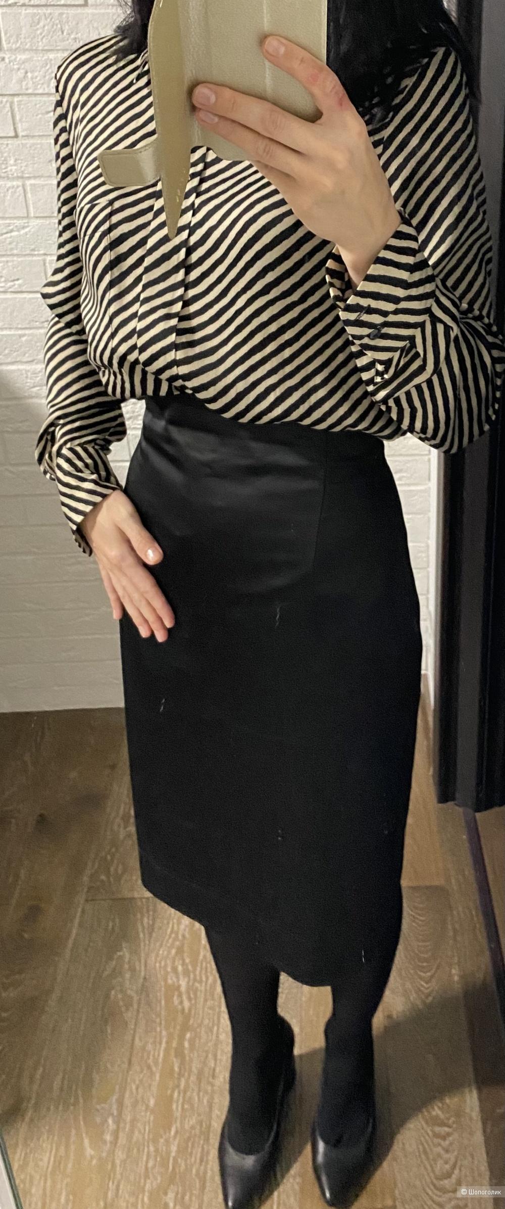 Атласная юбка карандаш Lakbi 42 размер