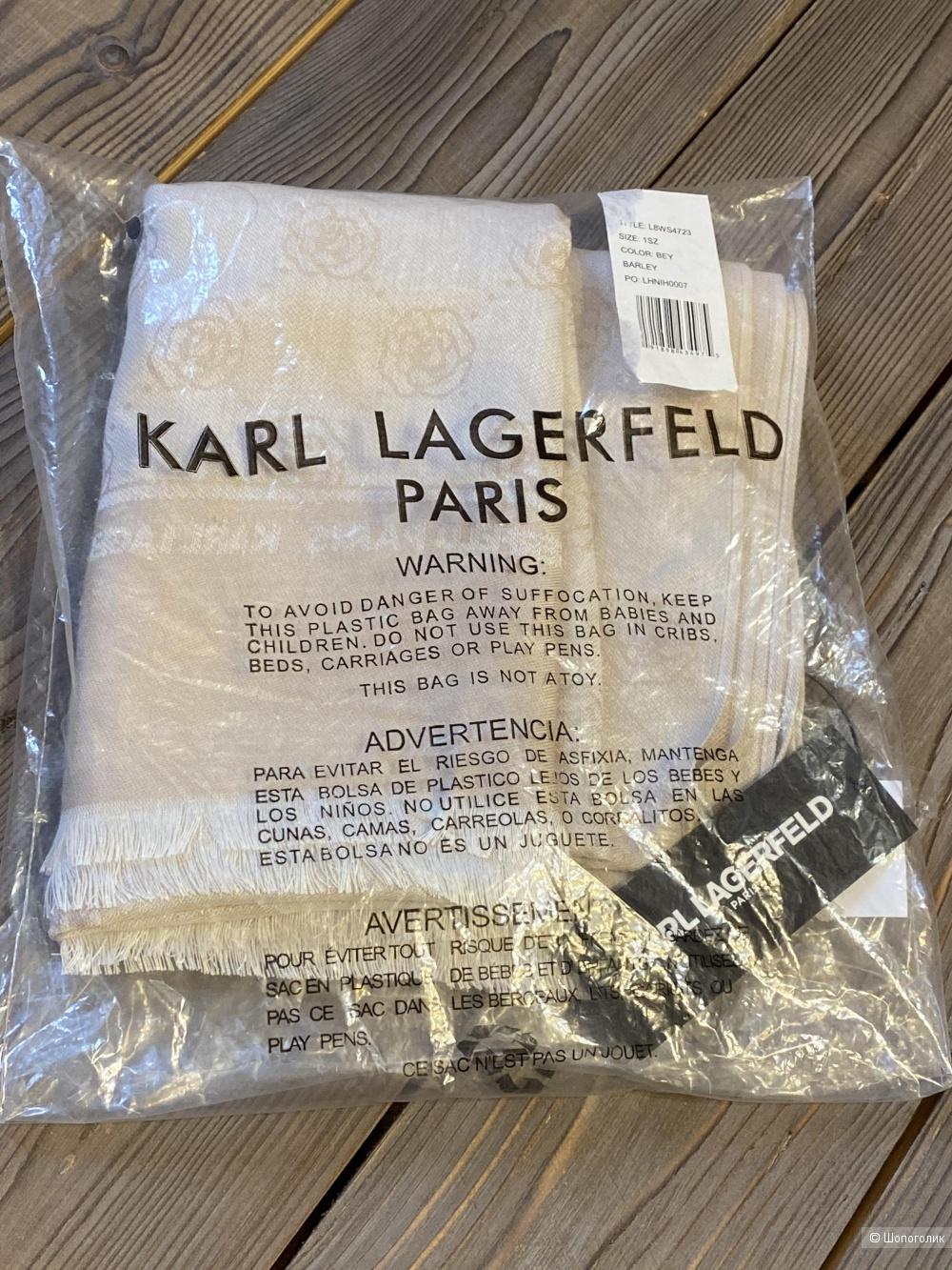 Палантин, шарф Karl Lagerfeld