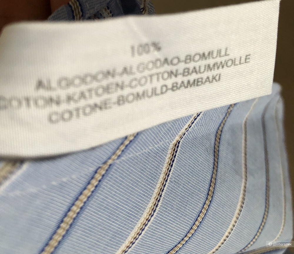 Рубашка Massimo Dutti, размер на этикетке 44 ( на 50 российский)