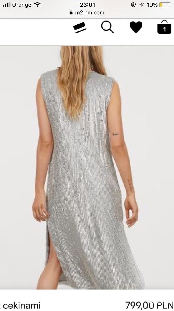 Платье HM Premium 36