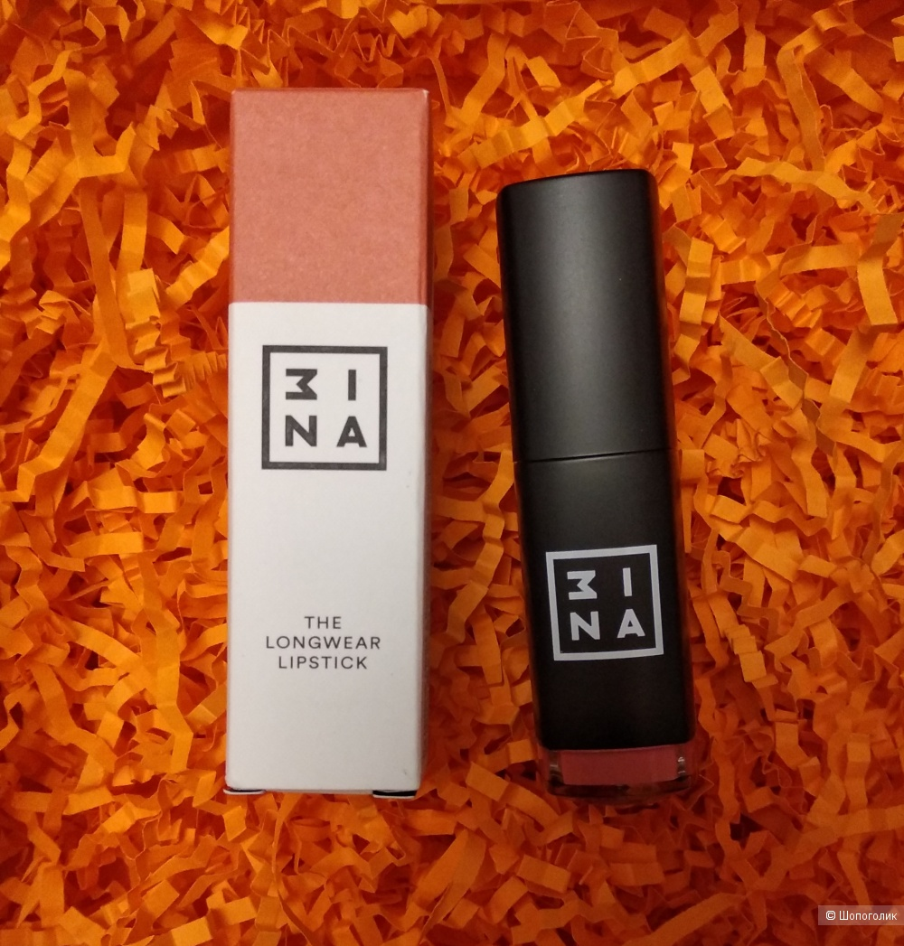 MINA (3INA) Стойкая помада, 7 мл