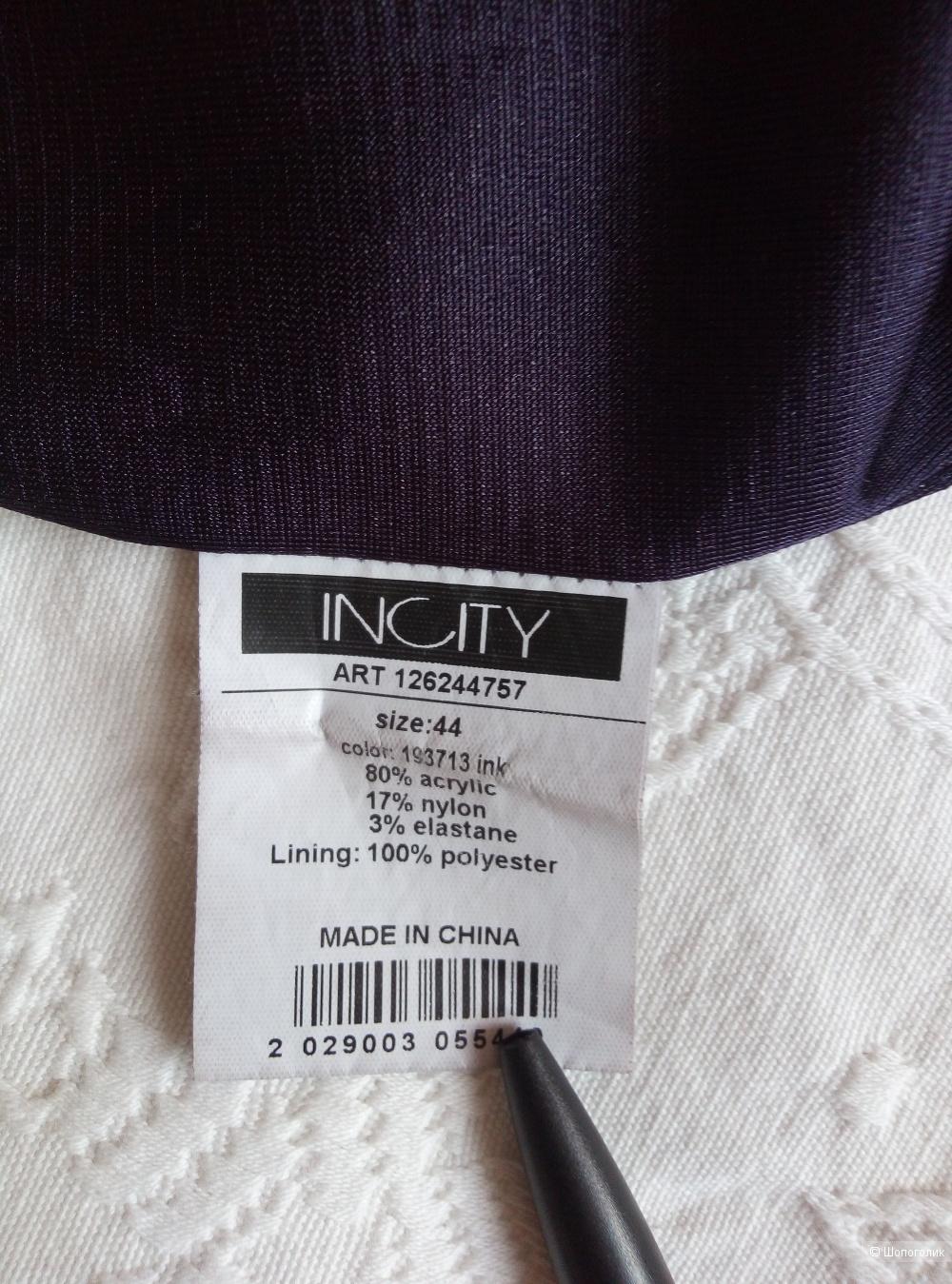 Платье-футляр , 44 размер , Incity,