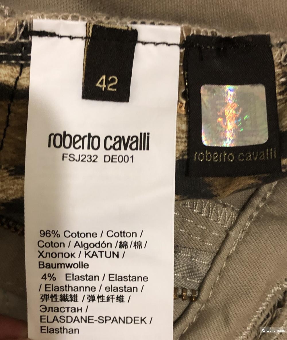 Джинсовые брюки ROBERTO CAVALLI 42 IT - 44 RU