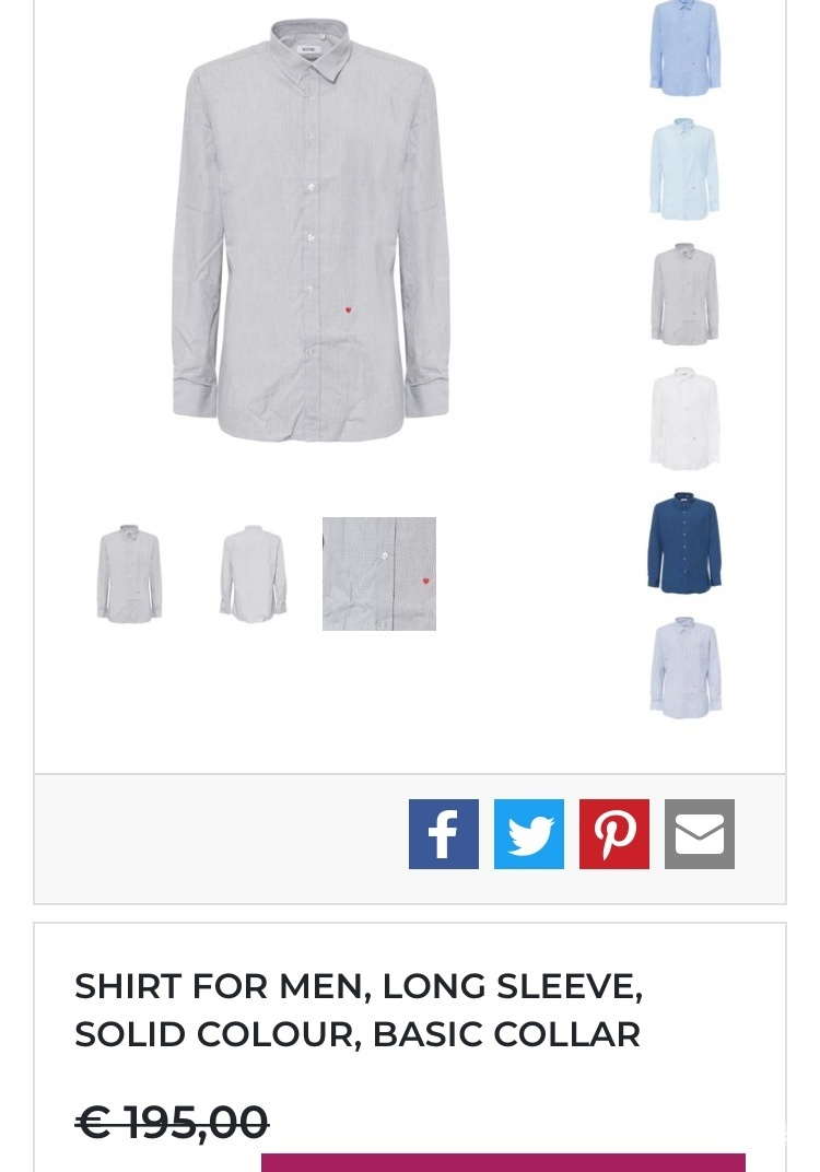 Moschino рубашка 52