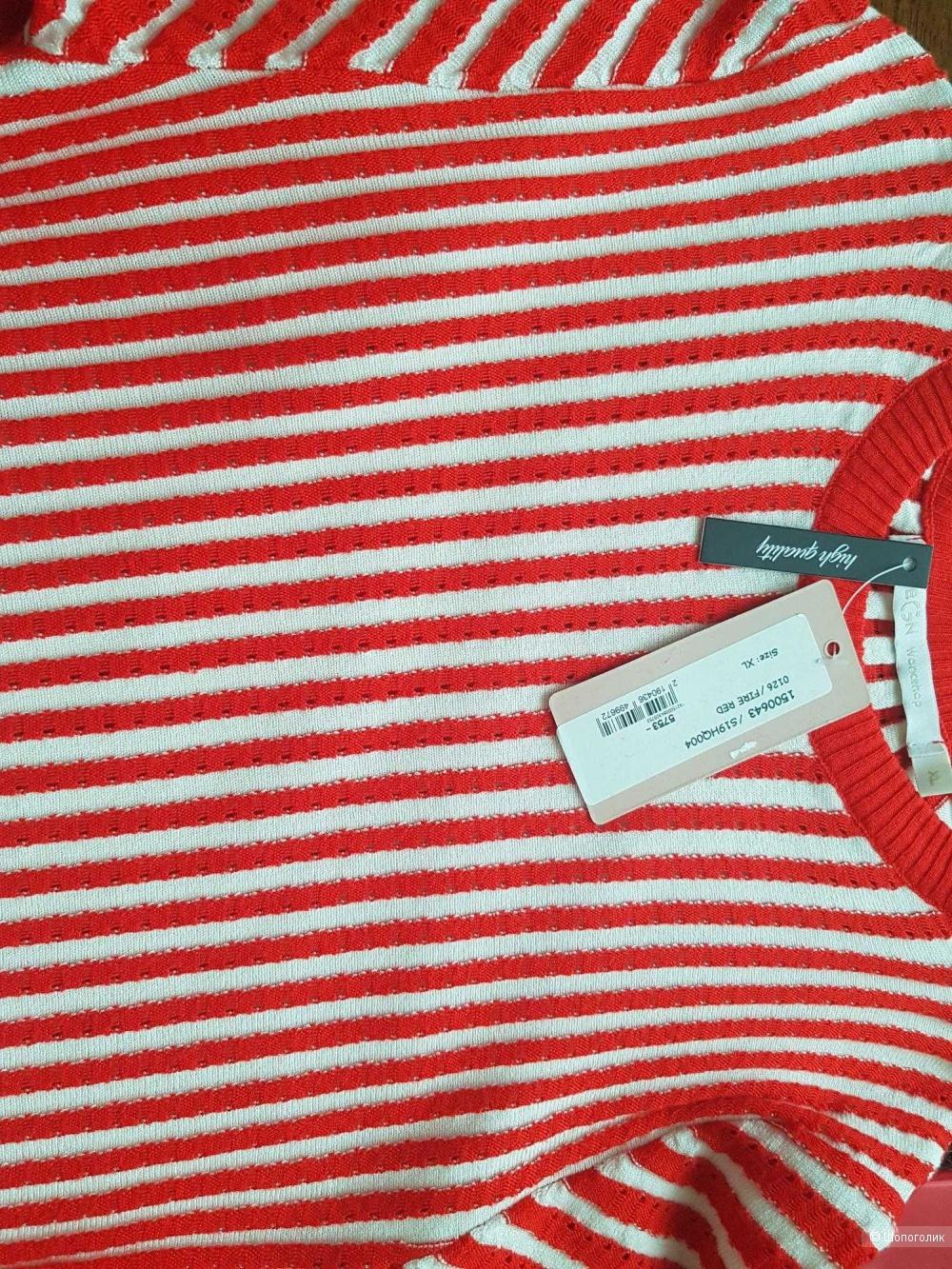 Свитер BGN размер XL красный цвет