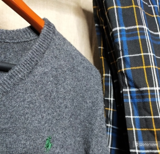 Шерстяной пуловер Polo by Ralph Lauren размер S/M/L