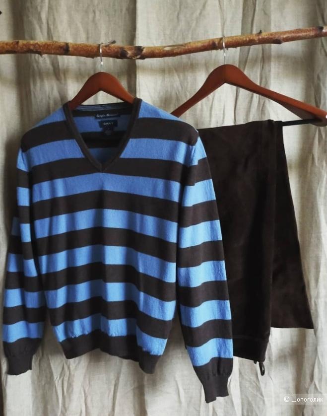 Шерстяной пуловер Gant размер S/M/L