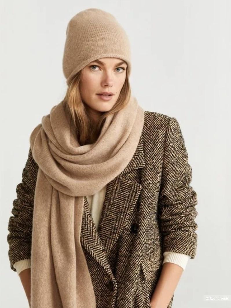 Кашемировый шарф christian berg, размер 37*160