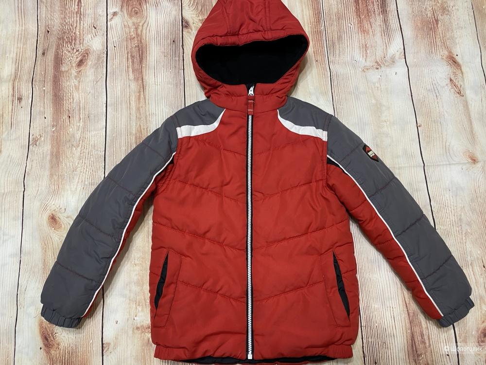 Куртка для мальчика на межсезонье Hawke&Co, размер 7, большемерит