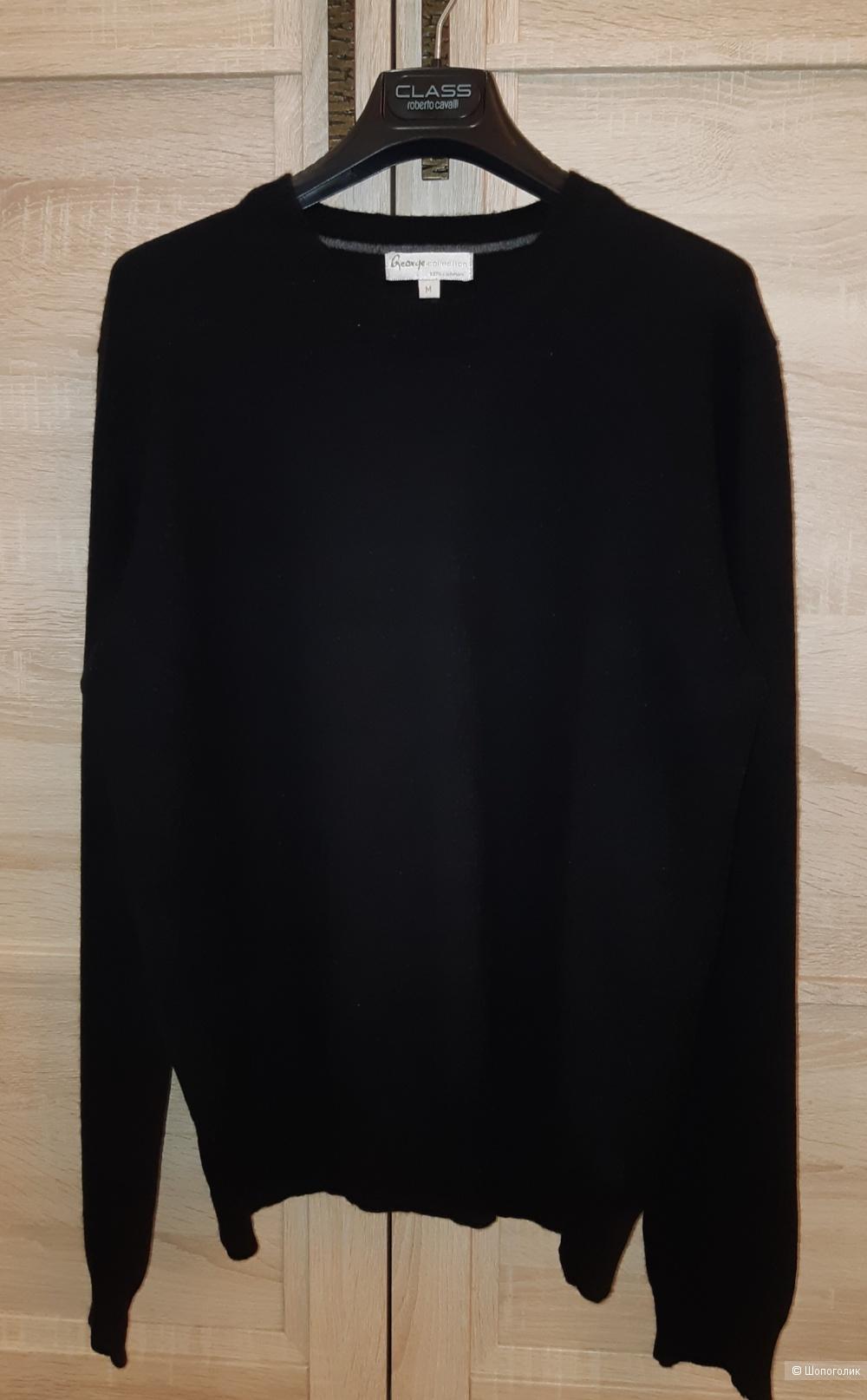 Кашемировый свитер george collection, размер 46/48