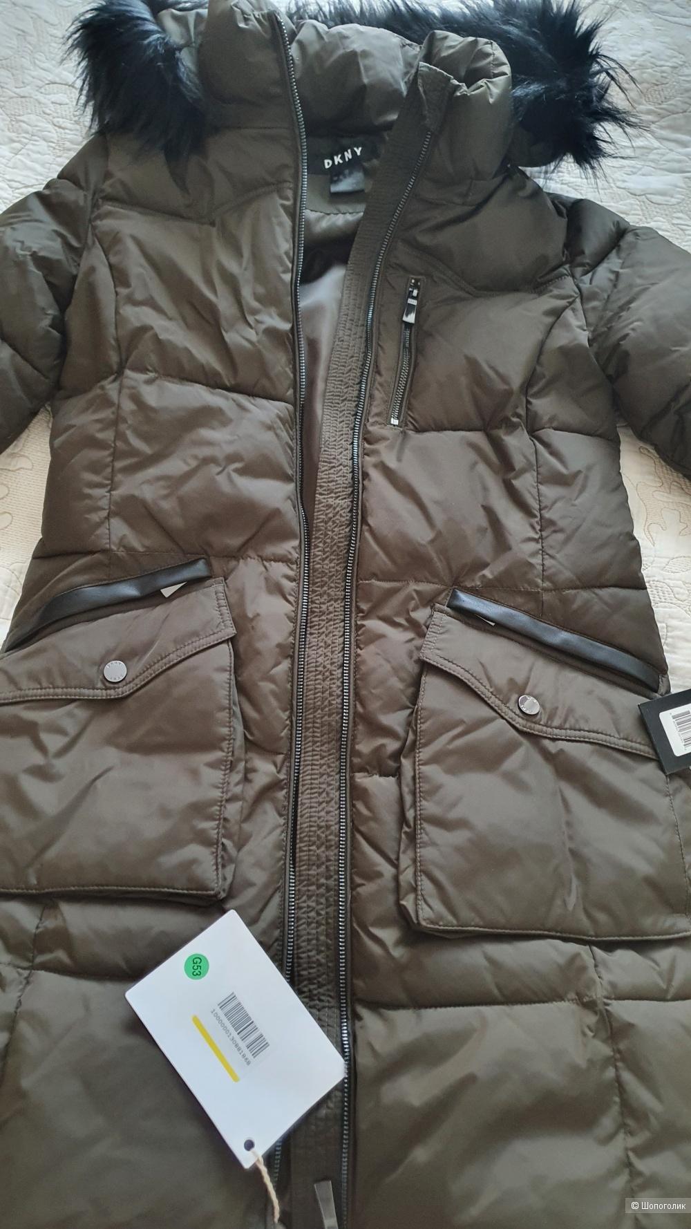 Куртка DKNY, размер XS, хорошо и на S