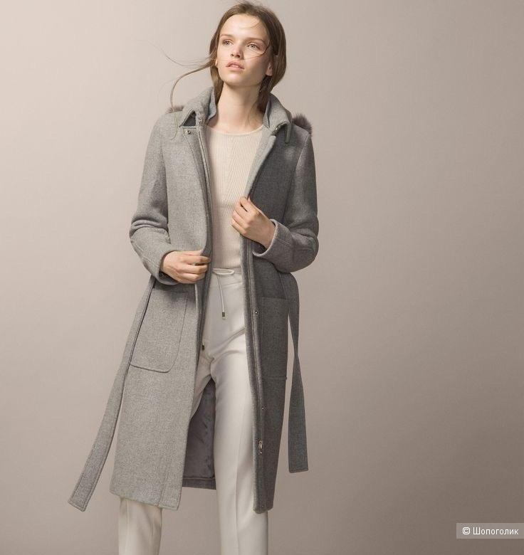 Пальто шерстяное Massimo Dutti 38 размер (42-44)