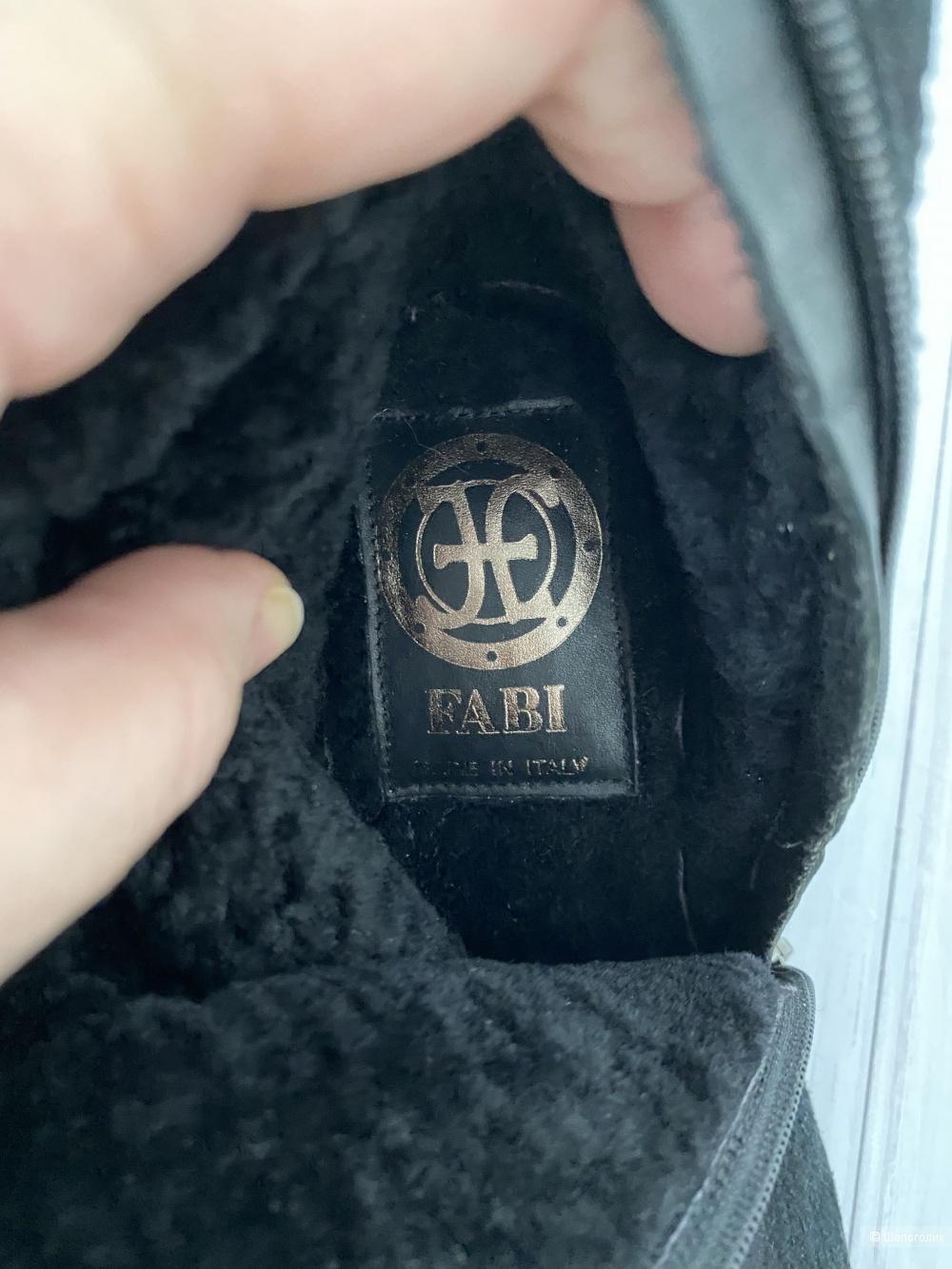 Сапоги Fabi 38 размер
