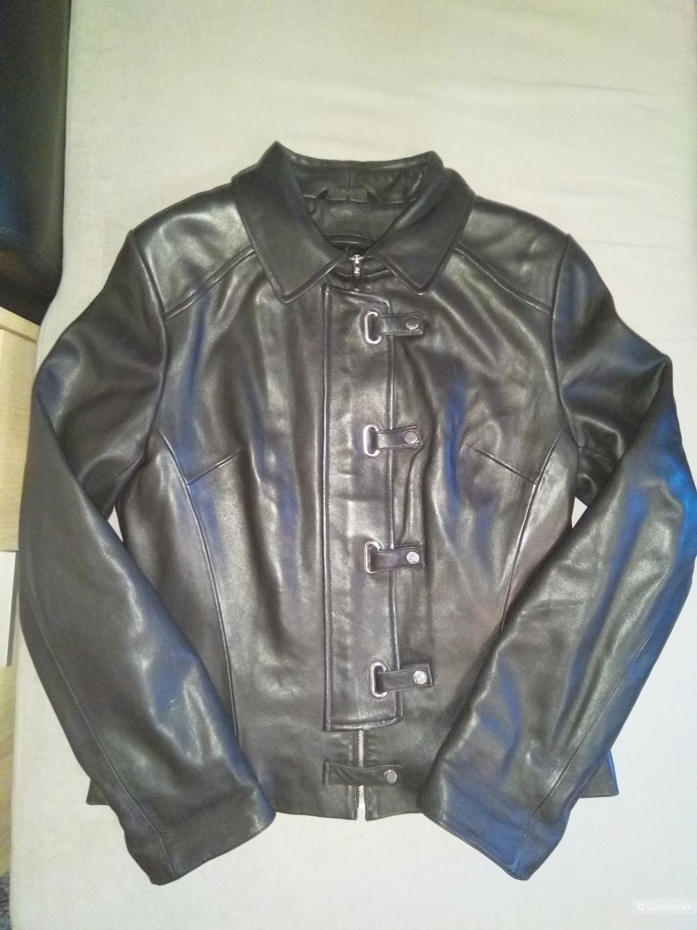 Куртка кожаная YING YUAN, размер M