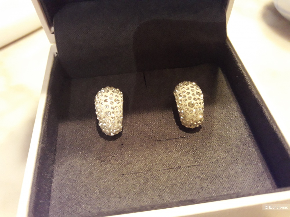 Sokolov серьги кристаллы Swarovski