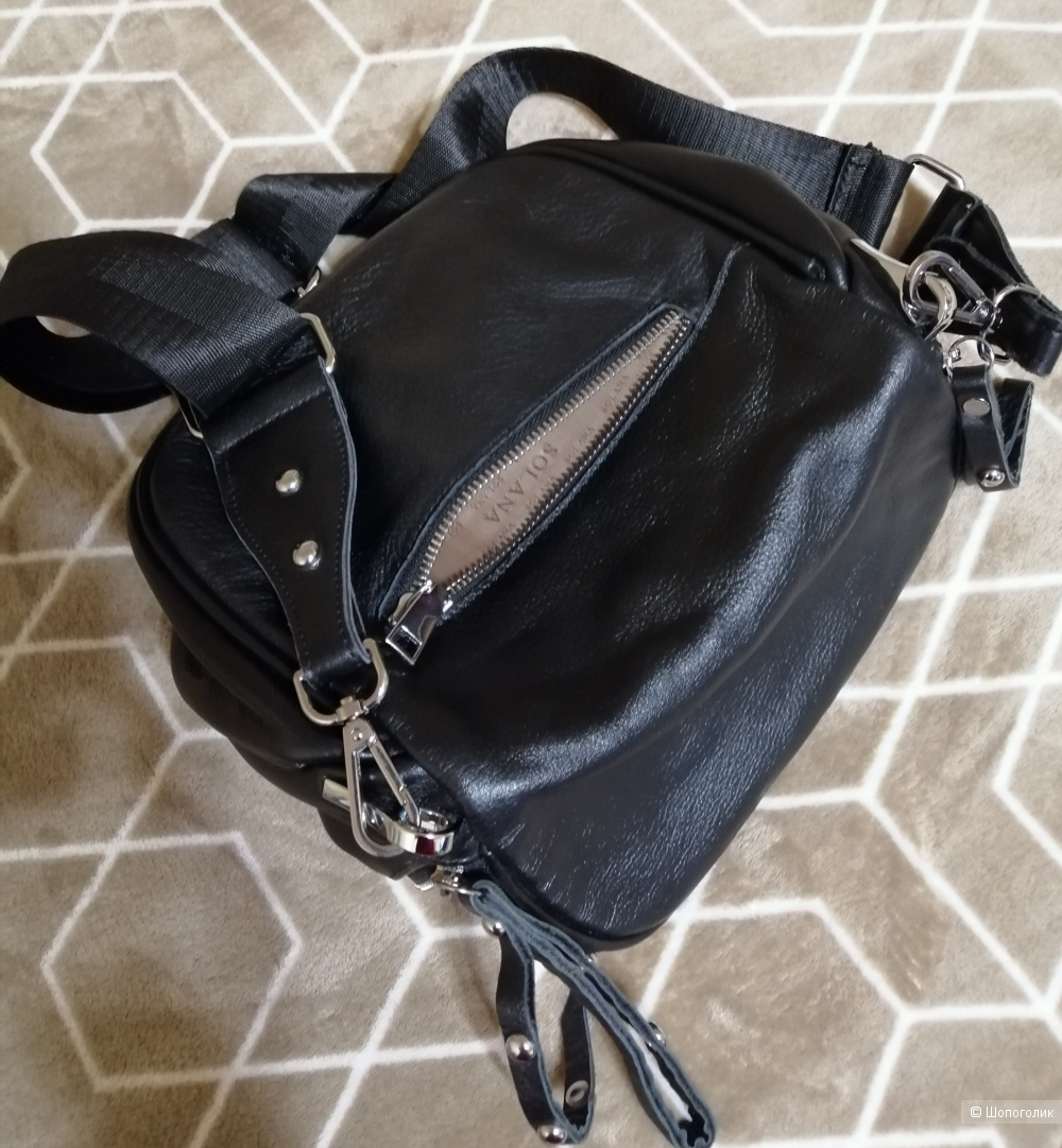 Кожаная сумка Solana