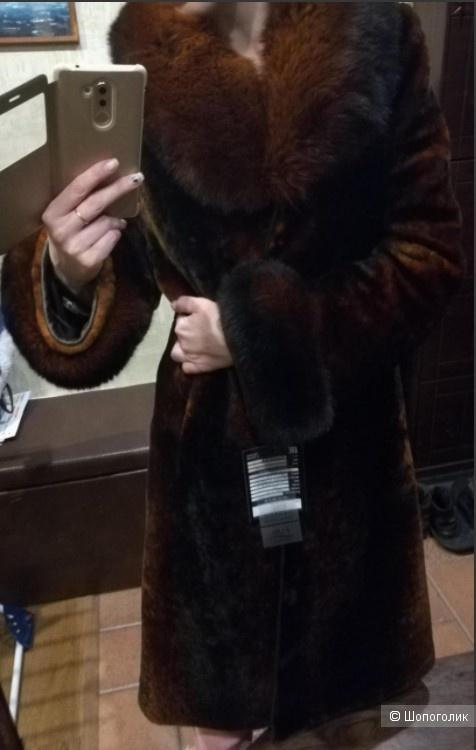 Шуба мутоновая Fur Natural 44 размер