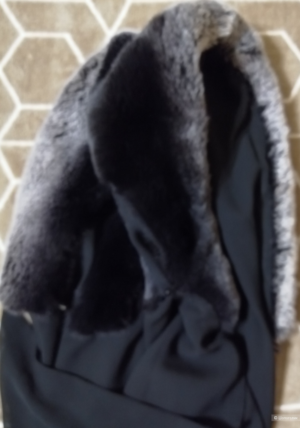 Платок - Капор из кролика Рекс
