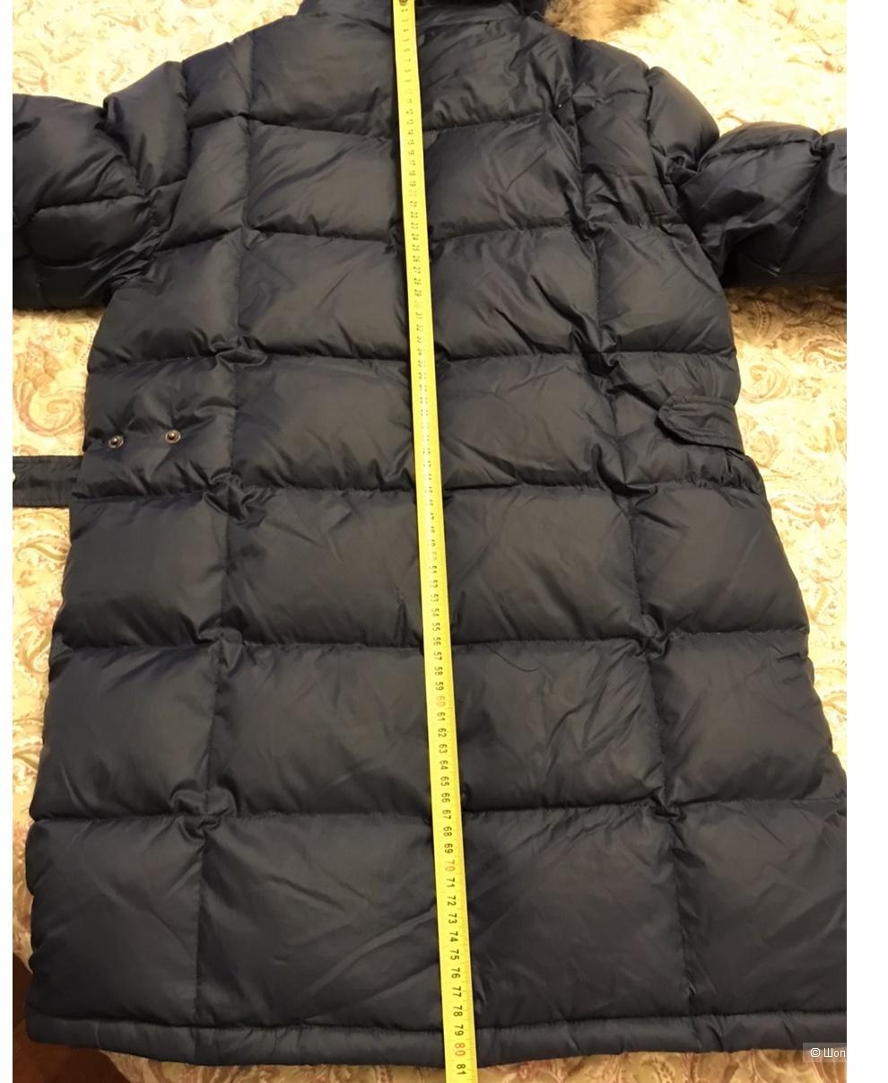 Куртка пуховик удлиннённая Les Trois Vallees 12 лет(большемерит)