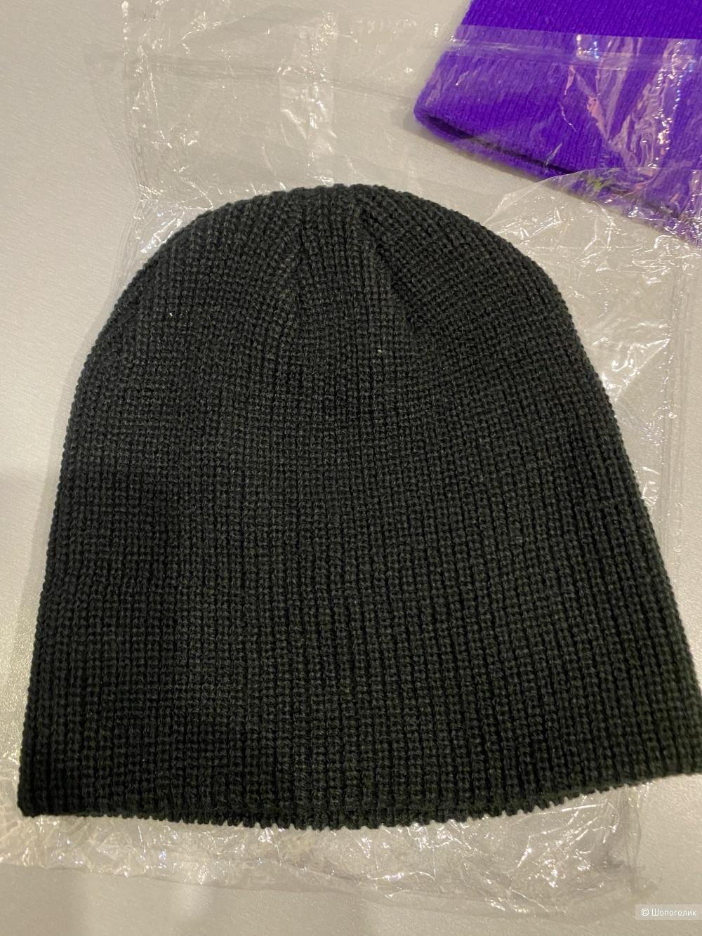 Три шапки бини комплектом + подарок