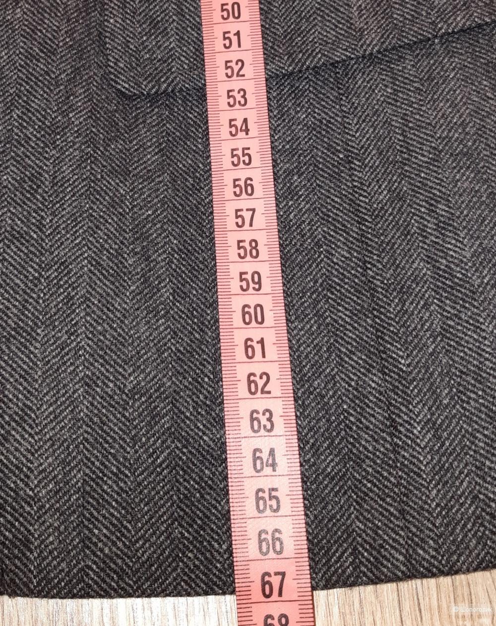 Шерстяной пиджак weekend maxmara, размер 46